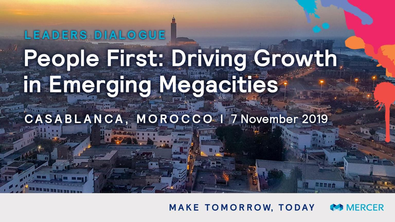Leaders Dialogue Event by Mercer