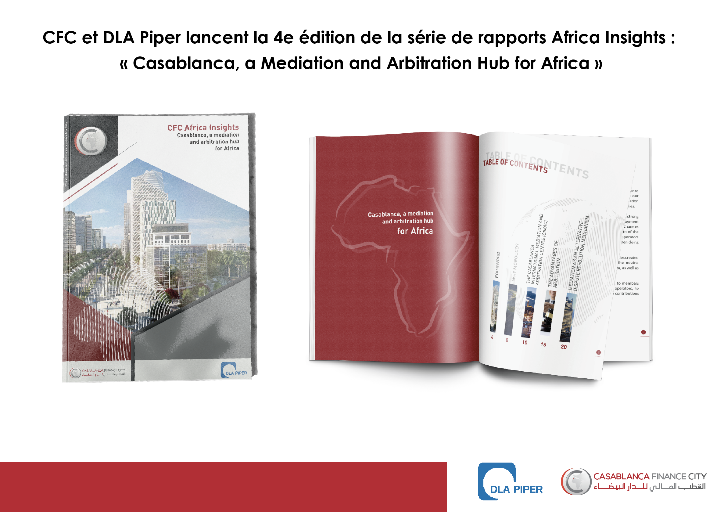 Casablanca, a mediation and arbitration hub for Africa
